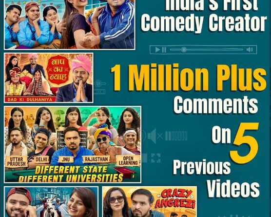 Amit Bhadana becomes first individual YouTuber to get 1 million comments on a video