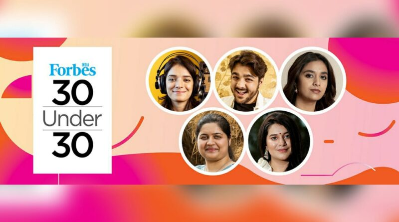 From Ashish Chanchlani to Tripti Dimri - Meet Forbes India 30 Under 30